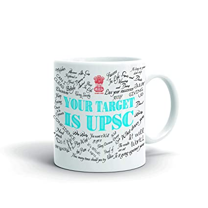 Buy Aqsi Motivational Quote Ceramic Coffee Mug Your Target Is Upsc Ias Ifs Doctor Engineer Online At Low Prices In India Amazon In