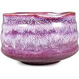 Matcha Bowl Chawan 传统手工茶碗,适合日本茶仪或日常使用 Kyoto Plum 4335465403
