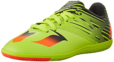 adidas Performance Messi 15.3 Indoor Soccer Shoe (Little Kid/Big Kid),Semi