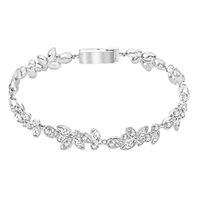 89e23a3a1 Image Unavailable. Image not available for. Colour: Swarovski Diapason  Bracelet ...
