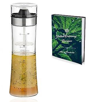 Botella de vidrio para aliños, Servicio de mesa, mezclador, agitador y eléctrica en