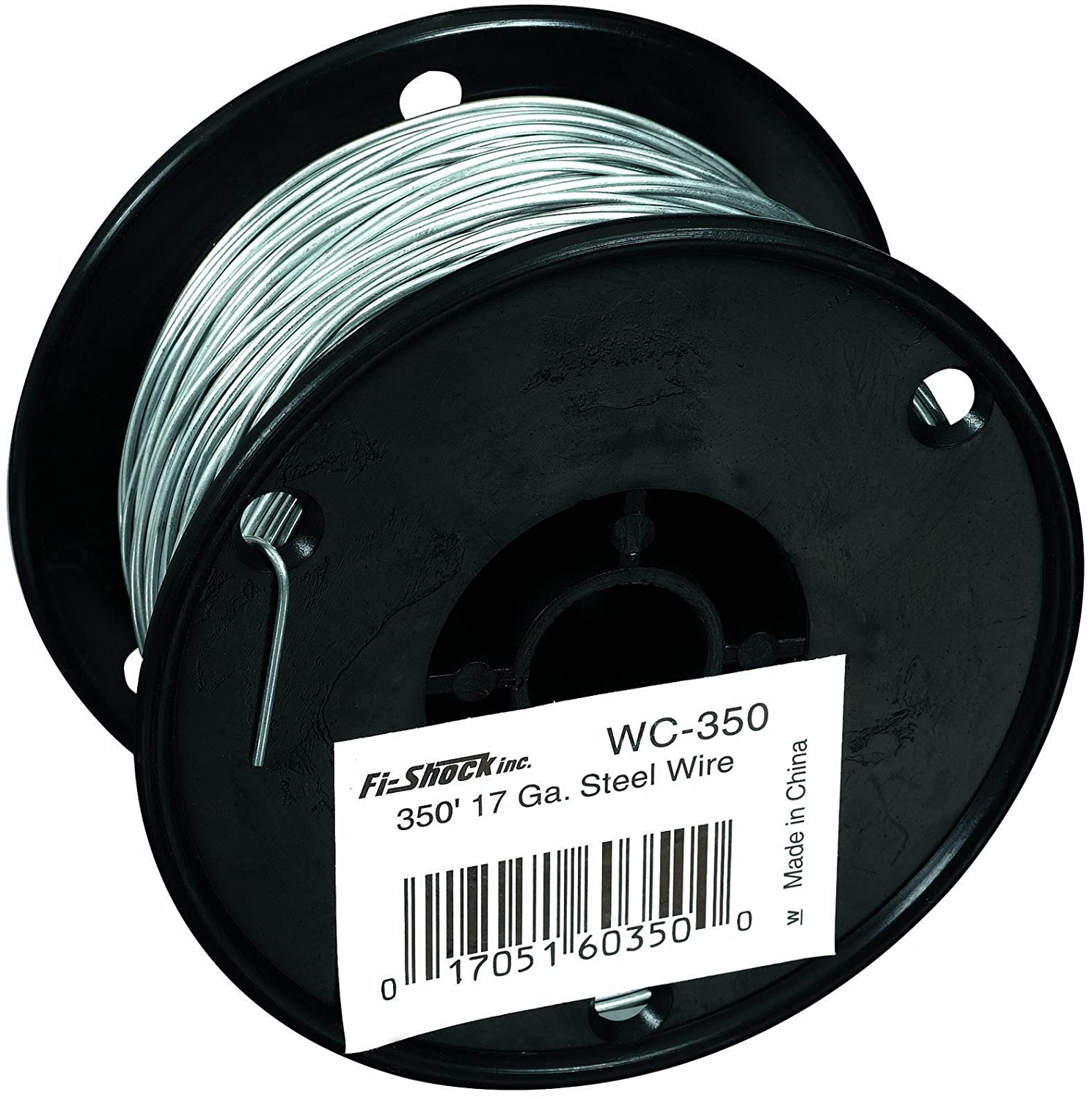 Amazon.com: Fi-Shock 350-Feet, 17 Gauge Spool Galvanized Steel Wire ...