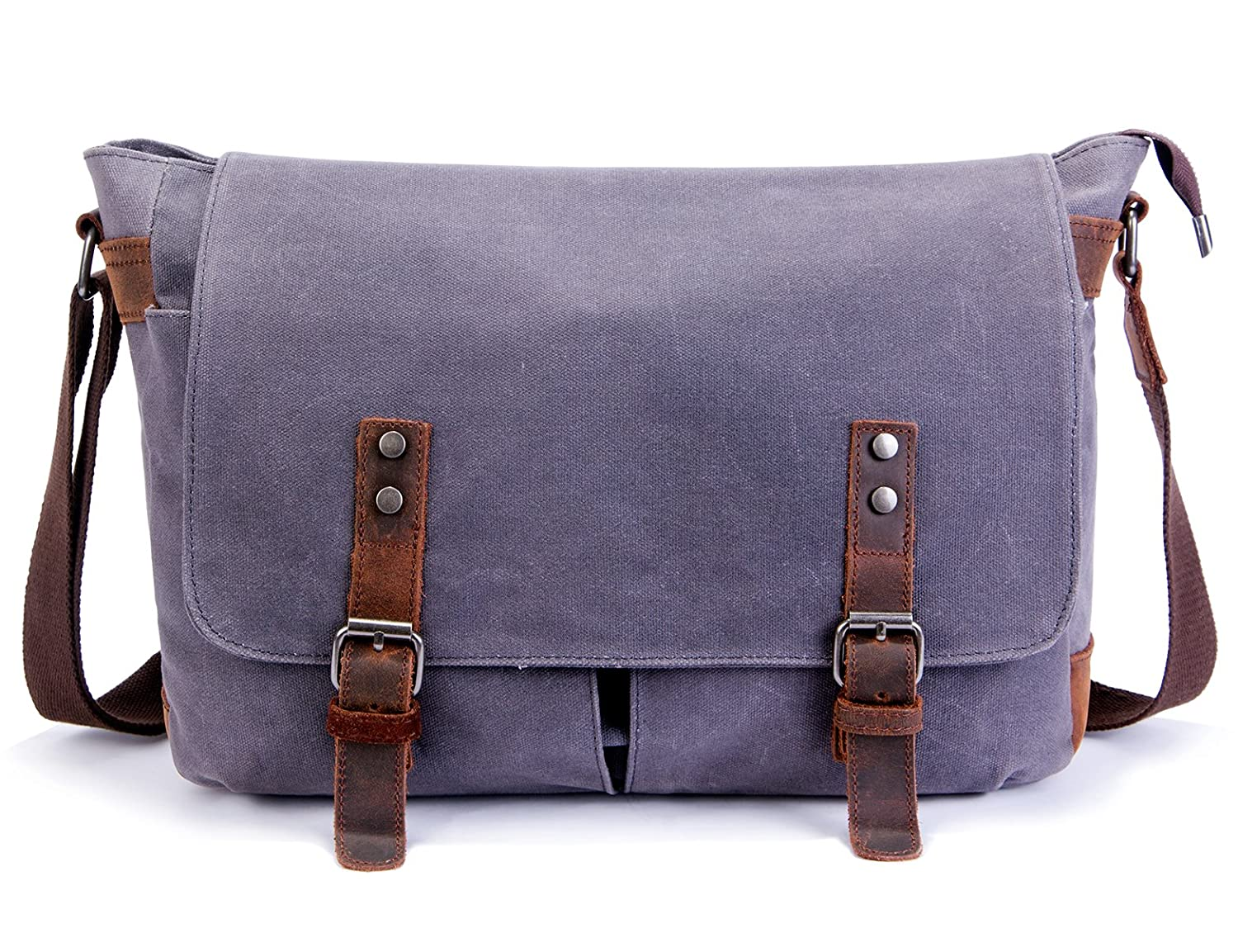 3f5bca2af742 Amazon.com  SUVOM Mens Messenger Bag