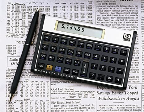Amazon.com : HP 12C Financial Calculator : Office Products