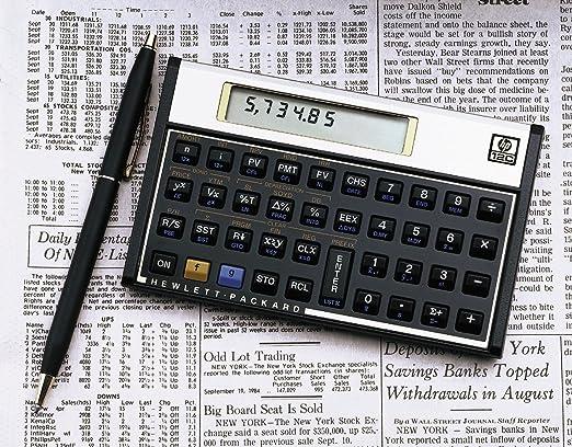 Amazon.com : HP 12C Financial Programmable Calculator : Office ...