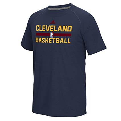 Cleveland Cavaliers Men s Navy adidas On-Court Climalite T-shirt (Small) 7c93b1c32