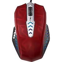 Perixx MX-3000R, Souris laser gaming - Avago 8200ppp Laser Sensor - Omron Micro Switch - 8 touches programmables et 5 profils- Systeme de poids - Le taux de vote 1000 HZ