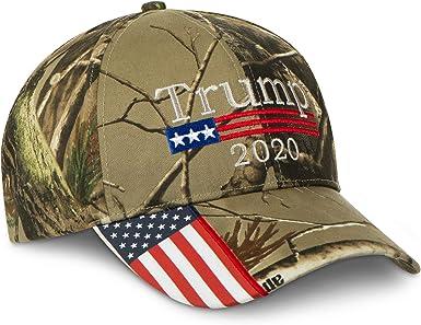Trump 2020 Hat Keep America Great//Make America Great Again Election USA Flag Cap