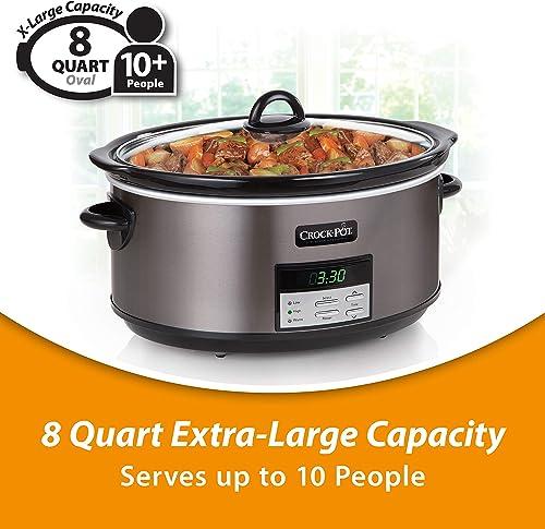 8 quart crock pot review - a versatile and affordable slow cooker