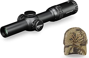 Vortex Optics SE-1624-1 Strike Eagle 1-6x24 AR-BDC w Hat (Colors May Vary)