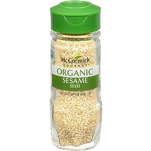 McCormick Gourmet Organic Sesame Seed, 1.87 oz