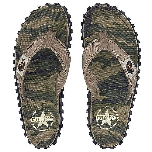 de16002fc07b Gumbies - Islander Canvas Flip-Flops - Camouflage  Amazon.co.uk  Shoes    Bags