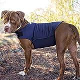 Hundemantel Anti-Angst-Effekt - Rabbitgoo T-Shirt mit Stressabbau für Hunde Angst vor Donner, laute Geräusche, Feuerwerk, Flammen, Reisen, Fremde,Trennung