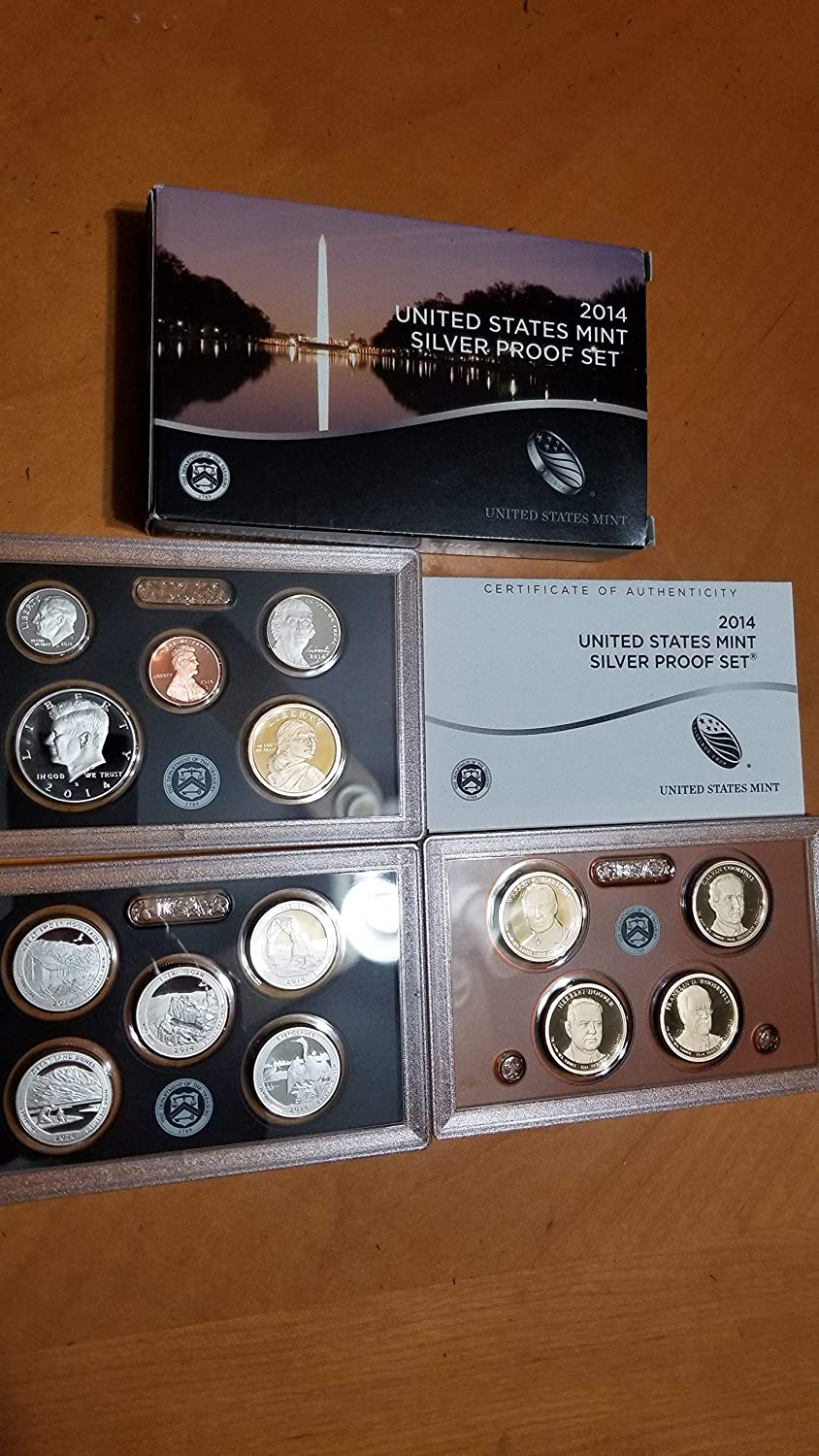 2014 US Mint Proof Set with Box and COA