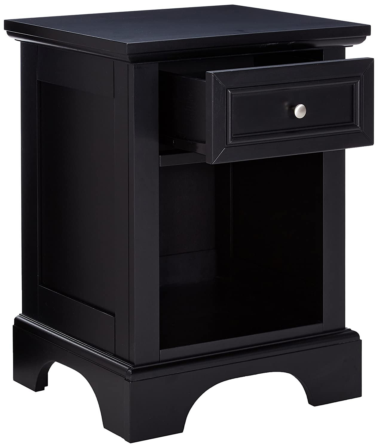 Black Finish Home Styles  Bedford Four Drawer Chest