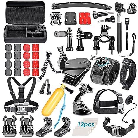 6350cf0dbb Amazon.com   VanteexPro 60-in-1 Accessories Bundle Kit for Gopro ...