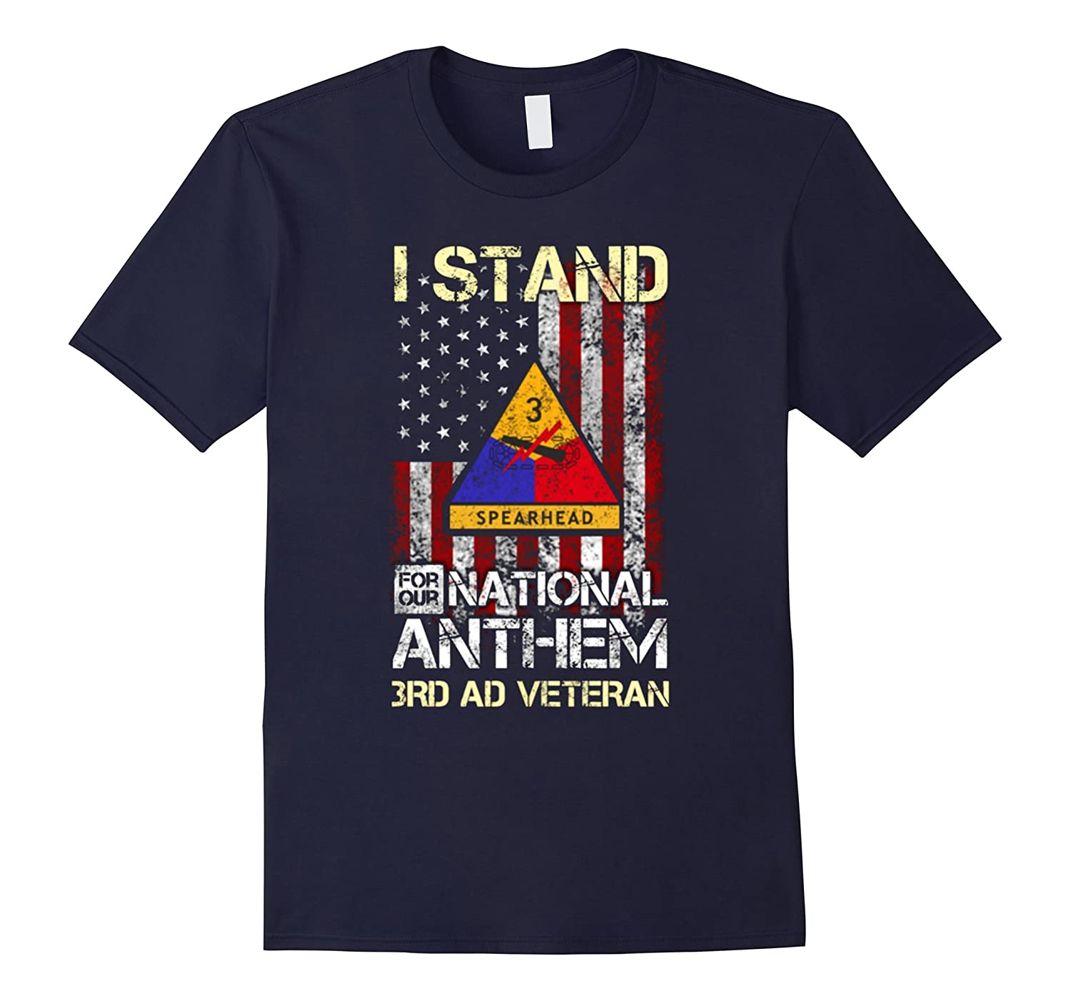 3rd Armored Division , I stand for our national anthem Shirt-T-Shirt