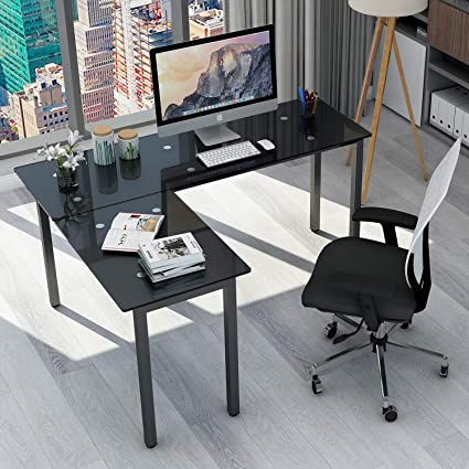Buy shape home office Computer Desk Image Unavailable Amazoncom Amazoncom Modernluxe Wf038812baa Lshape Home Office Corner