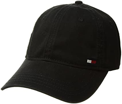 Tommy Hilfiger Men s Dad Hat Billy Corner Flag Cap b4c1e9e91bb
