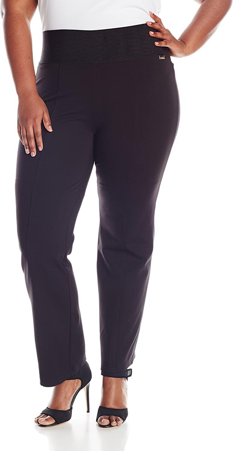 Calvin Klein Women's Pull On Stretch Pants (Standard and Plus)