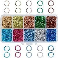 PH PandaHall Aluminum Wire Open Jump Rings