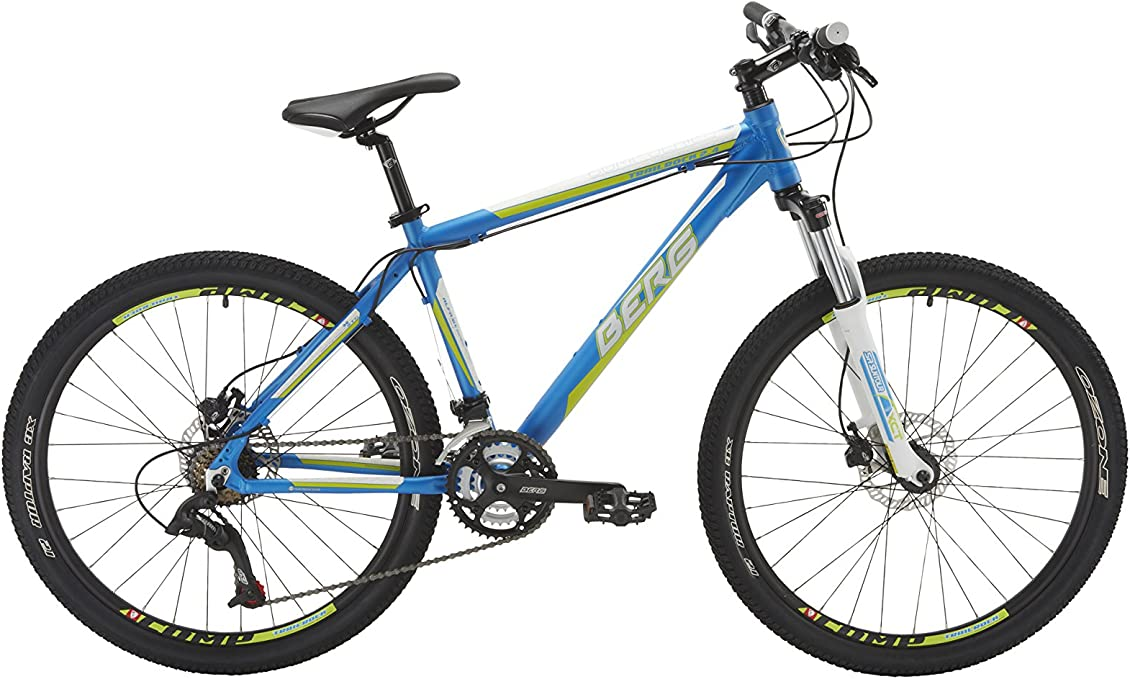 Berg Cycles Bicicleta Trailrock 2.4 Azul 21(XL): Amazon.es: Deportes y aire libre