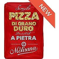 La Molisana Durum Wheat Semolina Flour for Pizza, 1 Kilogram