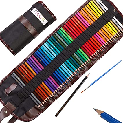 20 x PREMIUM COLOURING PENCILS PACK Set For Sketching Assorted Colours Gift