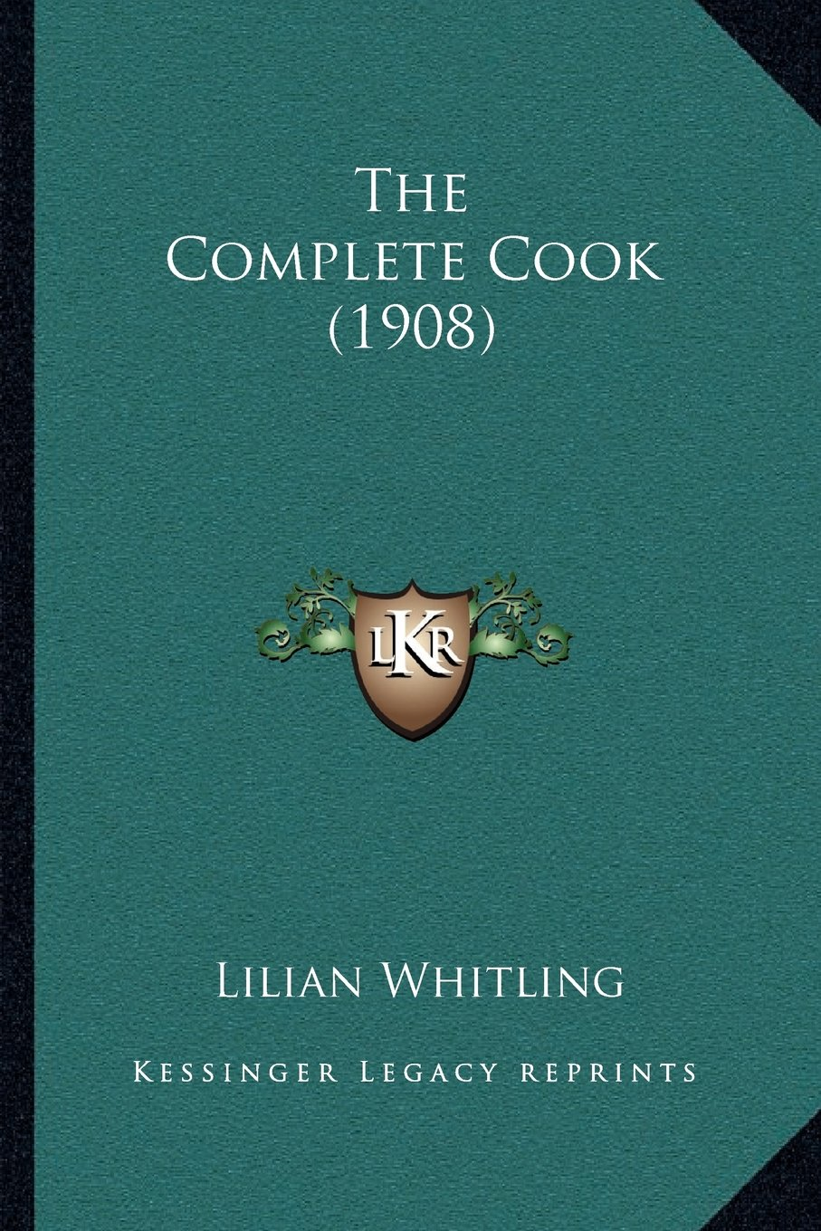 The Complete Cook (1908) pdf epub