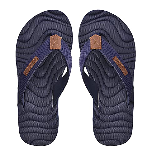 b9f94e2550810a Electra Men s Navy Blue Color Thong-Style Slippers Flip Flops  Buy ...