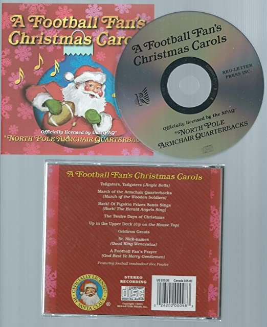 rex fowler a football fans christmas carols amazoncom music