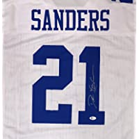 $179 » Dallas Cowboys Deion Sanders Autographed White Jersey Beckett BAS Stock #181311