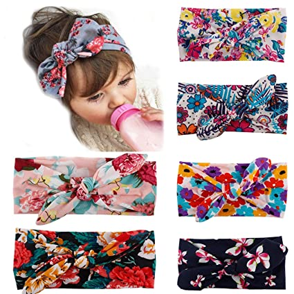 Image Unavailable. Image not available for. Color  My Little Baby Baby Girl  Newest Turban Headband Head Wrap Knotted ... 4c29077d3f66