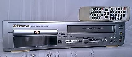 amazon com emerson ewd2202 dual deck dvd vcr combo electronics rh amazon com Yamaha DVD VCR Combo DVD VCR Combo Player
