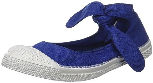 Bensimon Tennis FLO, Zapatillas para Mujer, Azul (Bleu Vif), 36 EU