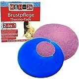 2-in-1 Thermo-Pads Stillzubeh/ör Stilleinlagen Rosa Brustpflege