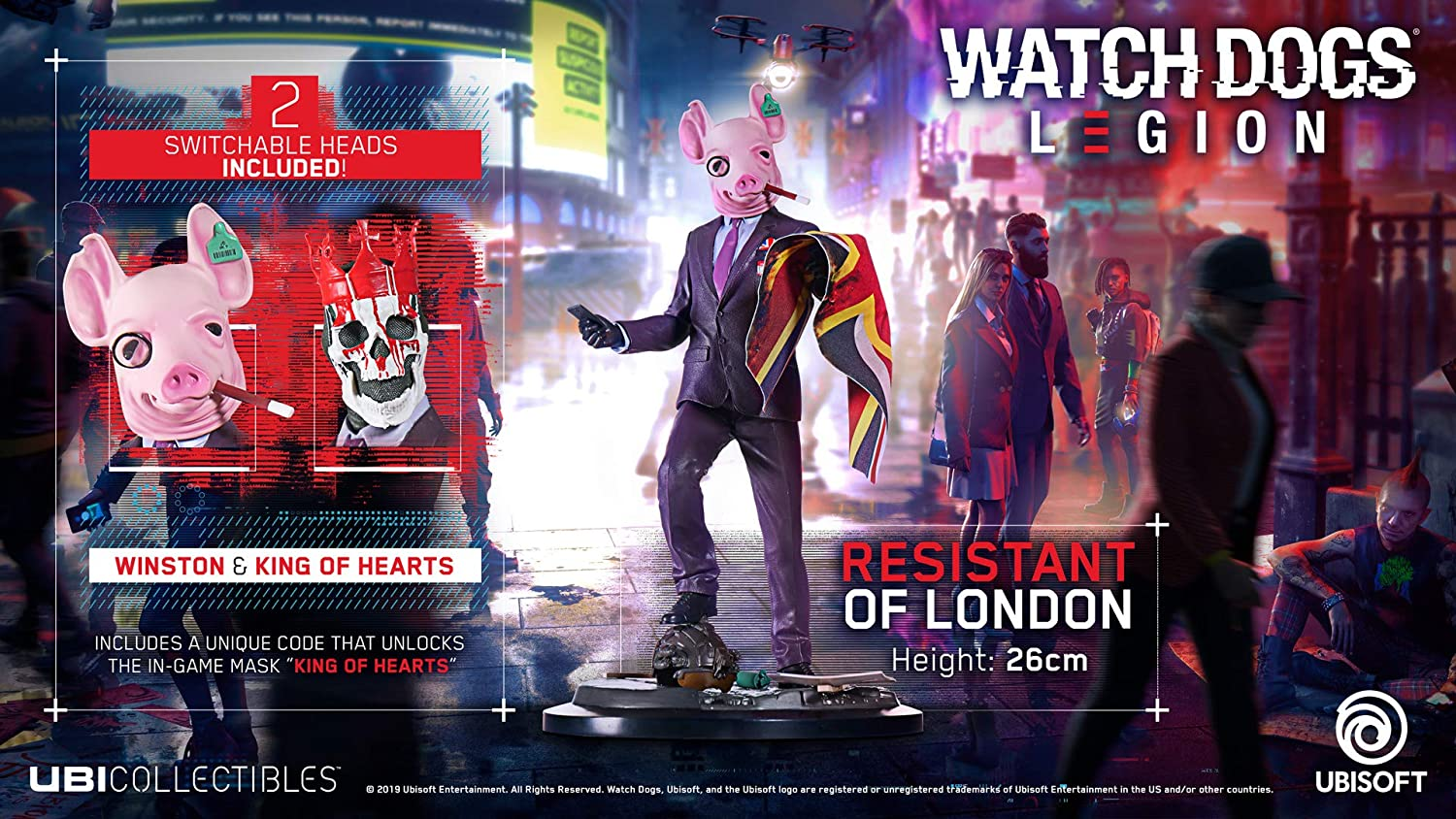 Figura Resistant of London - Watch Dogs Legion