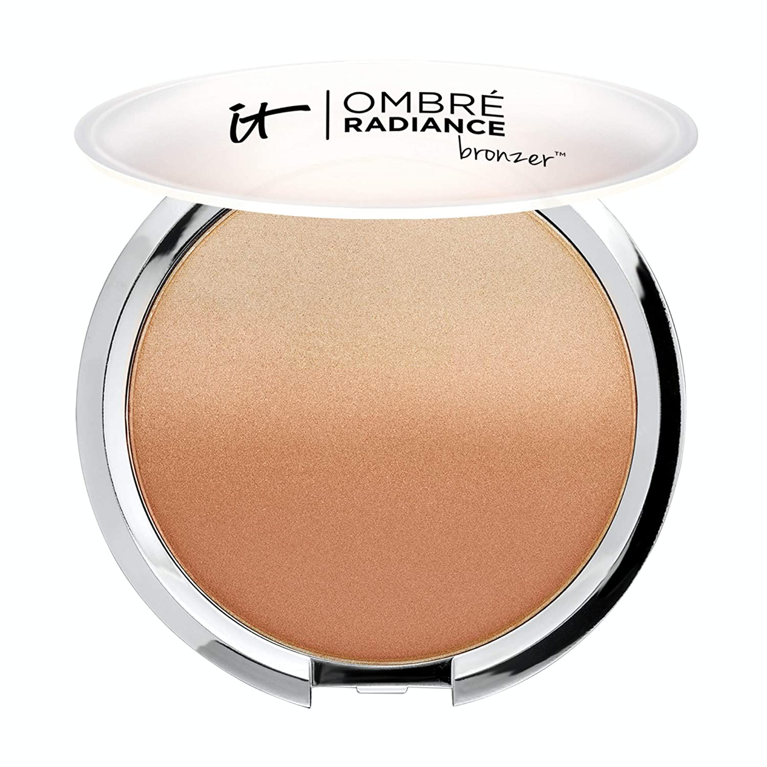 IT Cosmetics Ombre Radiance Bronzer - Matte Glow & Subtle Radiance in One - All-Day, Waterproof, Budge-Proof Formula - With Anti-Aging Collagen & Peptides - 0.57 oz