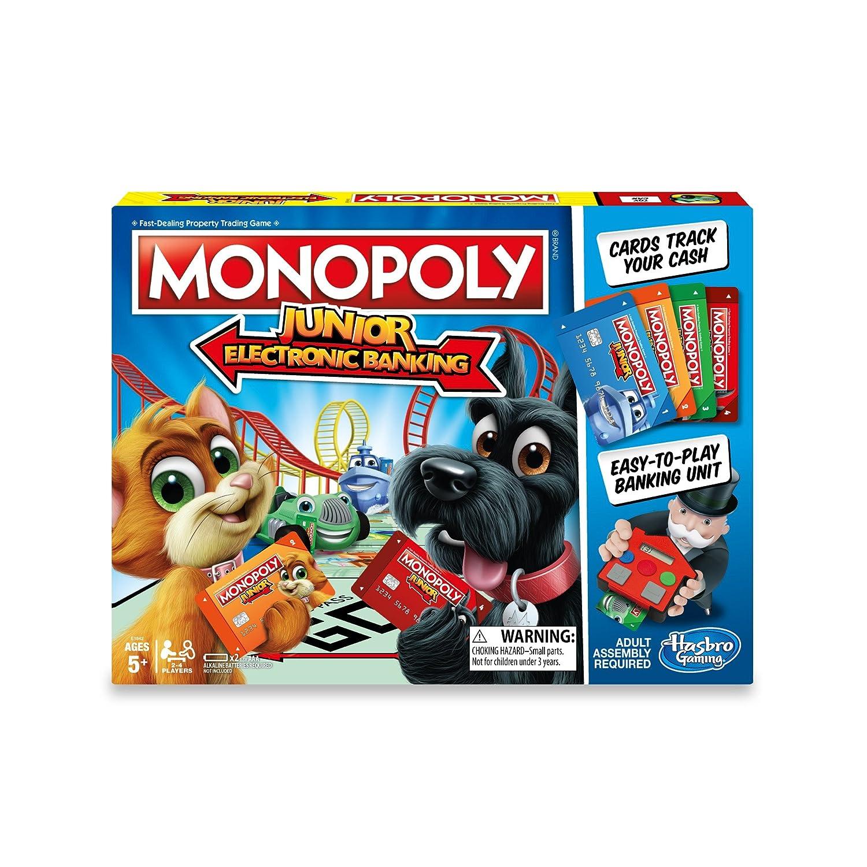 Monopoly Junior Electronic Banking Hasbro E1842