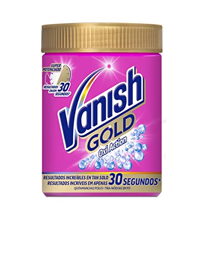 Vanish Oxiaction Gold Powder Detergente en Polvo - 470 gr