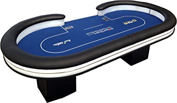 Newpokertable mesa de poker 246x124 cm ,replica final EPT ,led y ...
