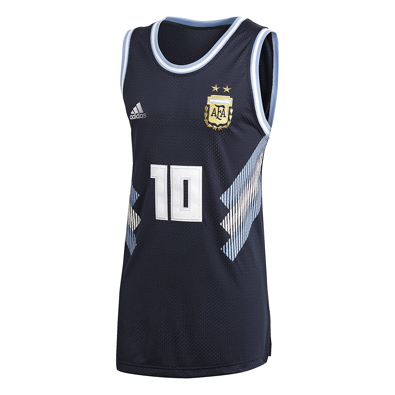 2018-2019 Argentina Adidas Seasonal Special Tank Top (Navy) B07BRKZ3GXNavy Medium 38-40\