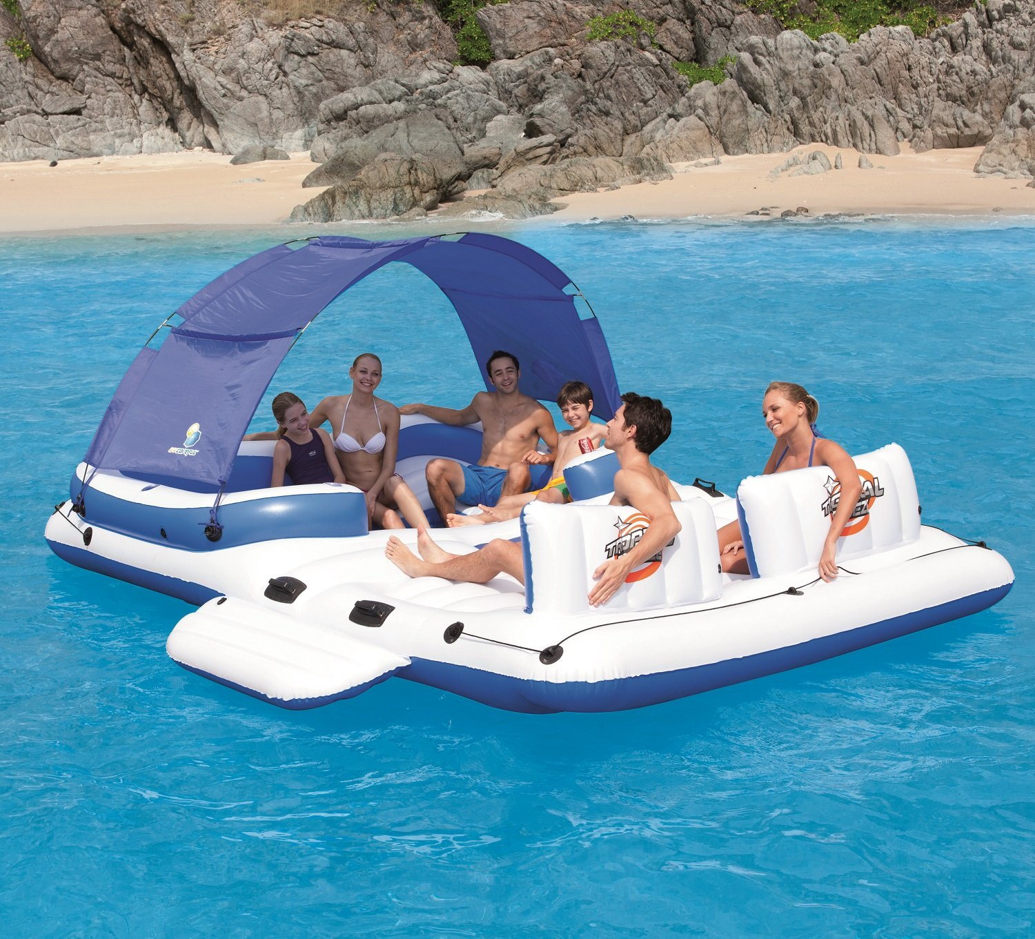 Amazon CoolerZ Tropical Breeze Inflatable Floating Island