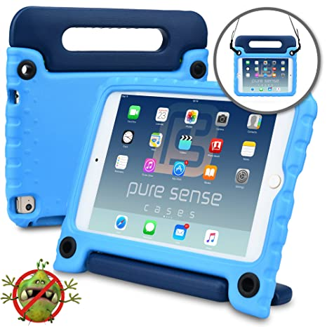Tablets & E-books Case Official Website For Ipad Mini4 Shockproof Kids Protector Case For Ipad Mini 4 Heavy Duty Silicone Hard Cover Shell Shoulder Strap