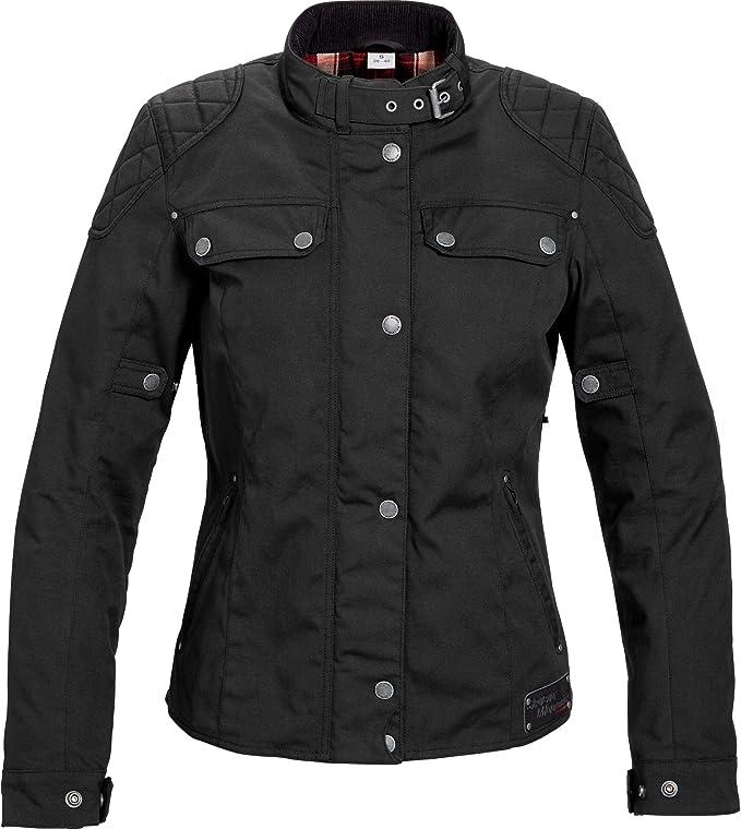 Spirit Motors Motorradjacke Mit Protektoren Motorrad Jacke Retro Style Damen Textil Jacke 1 0 Chopper Cruiser Ganzjährig Bekleidung
