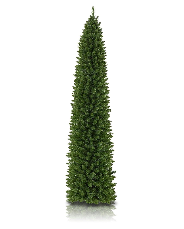 Amazon.com: Treetopia No. 2 Pencil Artificial Christmas Tree, 6 Feet ...