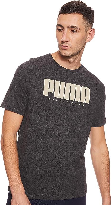 PUMA Athletics tee - Camiseta Hombre: Amazon.es: Ropa y accesorios