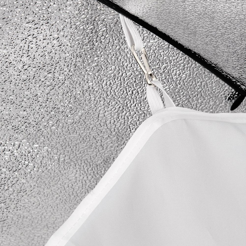 Soft Box Walimex 19136 Caja de luz Negro, Blanco, 120 cm, 395 mm, 1,96 kg
