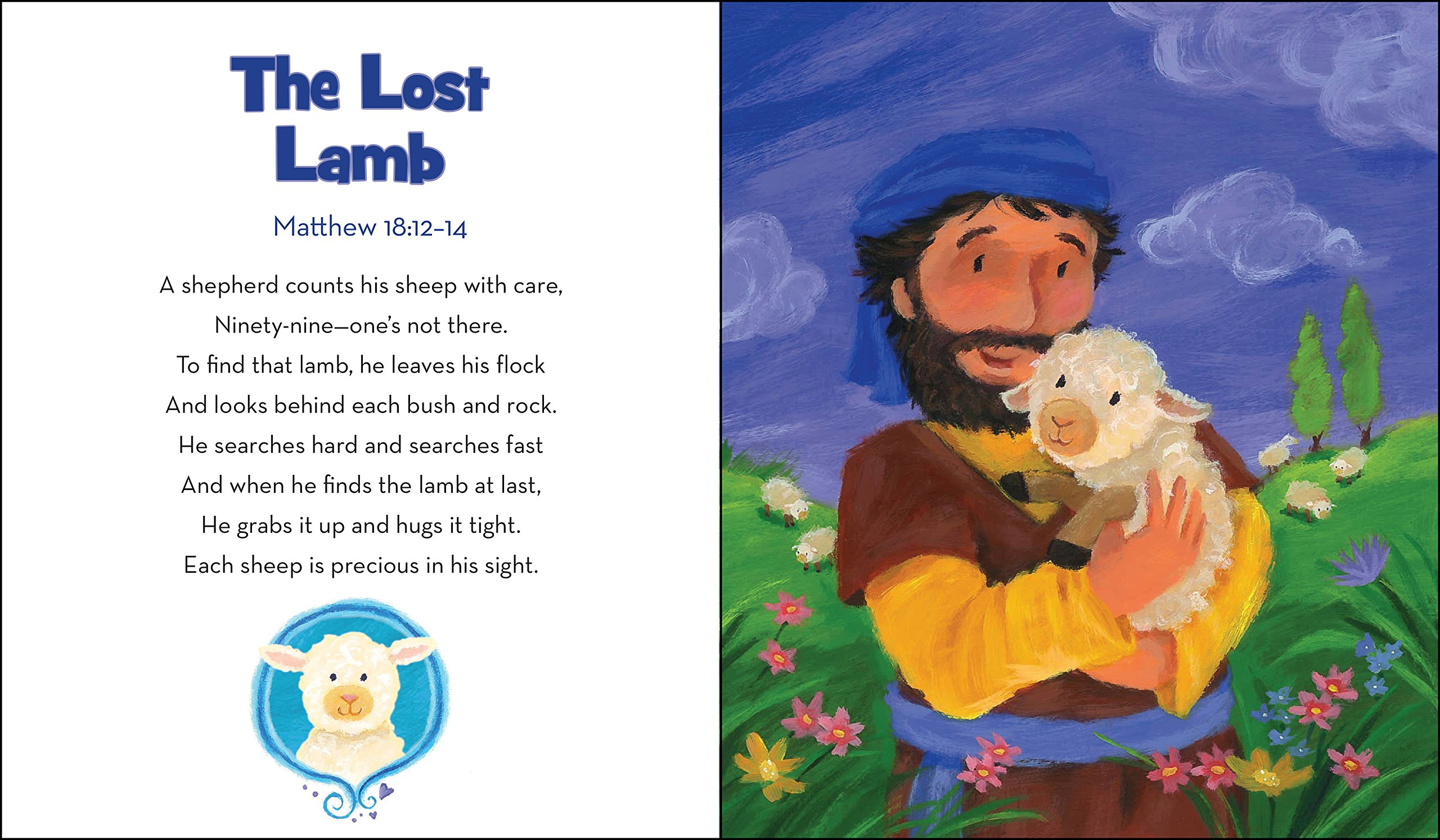 Little Lamb's Bible (furry Bible Stories): P J Lyons: 0000310725518:  Amazon: Books