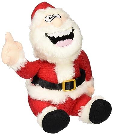 Amazon Com Pull My Finger Farting Santa Holiday Gag Gift Toys